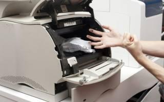 Как устранить замятие бумаги в принтере