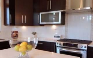 Кухонная вытяжка с отводом в вентиляцию