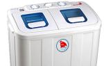 Особенности и варианты стиральных машин полуавтоматического типа