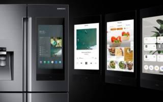 На выставке CES-2017 представили говорящий холодильник Smart InstaView