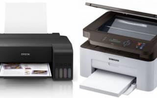 Выбор идеального принтера для печати фото