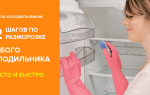 Как правильно разморозить холодильник