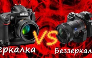 Разница между зеркальным, беззеркальным и компактным фотоаппаратом