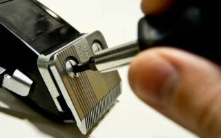 Ремонт машинки для стрижки волос своими руками