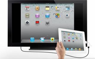 Как правильно подключить Ipad к телевизору