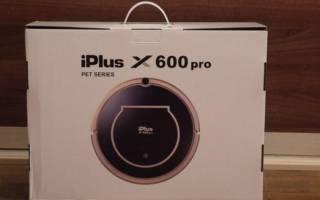 Робот-пылесос iPlus x600pro: классическая модель с новой начинкой