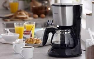 Принцип действия капельной кофеварки