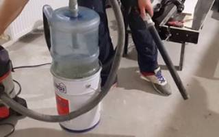 Как сделать циклонный фильтр для пылесоса своими руками