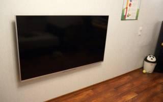 Оптимальная высота установки телевизора