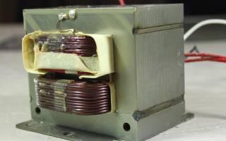 Выявление неисправностей высоковольтного трансформатора микроволновой печи