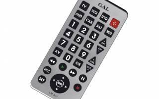 Настройка универсального пульта для телевизора