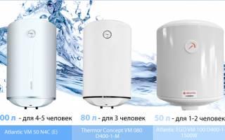 Как подобрать оптимальное значение мощности водонагревателя