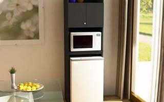 Правила установки микроволновой печи: соседство с другой техникой