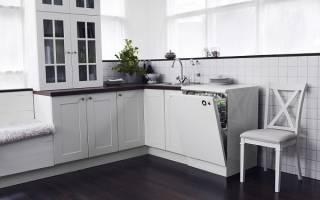 Правила встраивания посудомоечной машины в готовую кухню