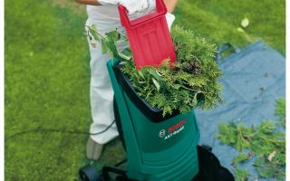 Обзор лучших моделей садовых измельчителей