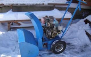 Самодельный снегоуборщик из бензопилы, триммера или мотокультиватора