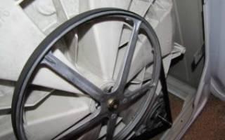Что делать, если слетает ремень с барабана стиральной машины