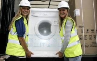 Как правильно перевозить стиральную машинку