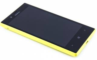 Nokia Lumia 720 — стильный игрок рынка Windows Phone