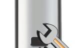Основные неисправности накопительных водонагревателей