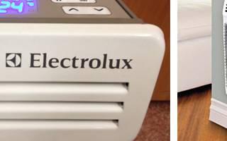 Преимущества конвекторов марки Электролюкс