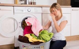 Как избавиться от неприятного запаха из стиральной машинки автомат