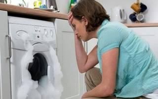 Причины гудения стиральной машины во время стирки
