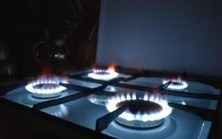 Определяем температуру на газовой плите