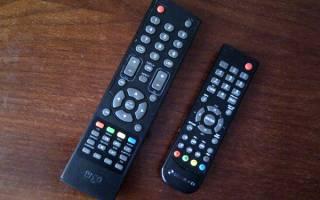 Подбор пульта к телевизору